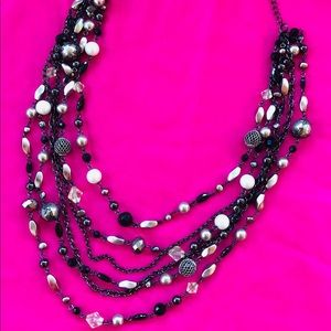 Lia Sophia Multi layer necklace